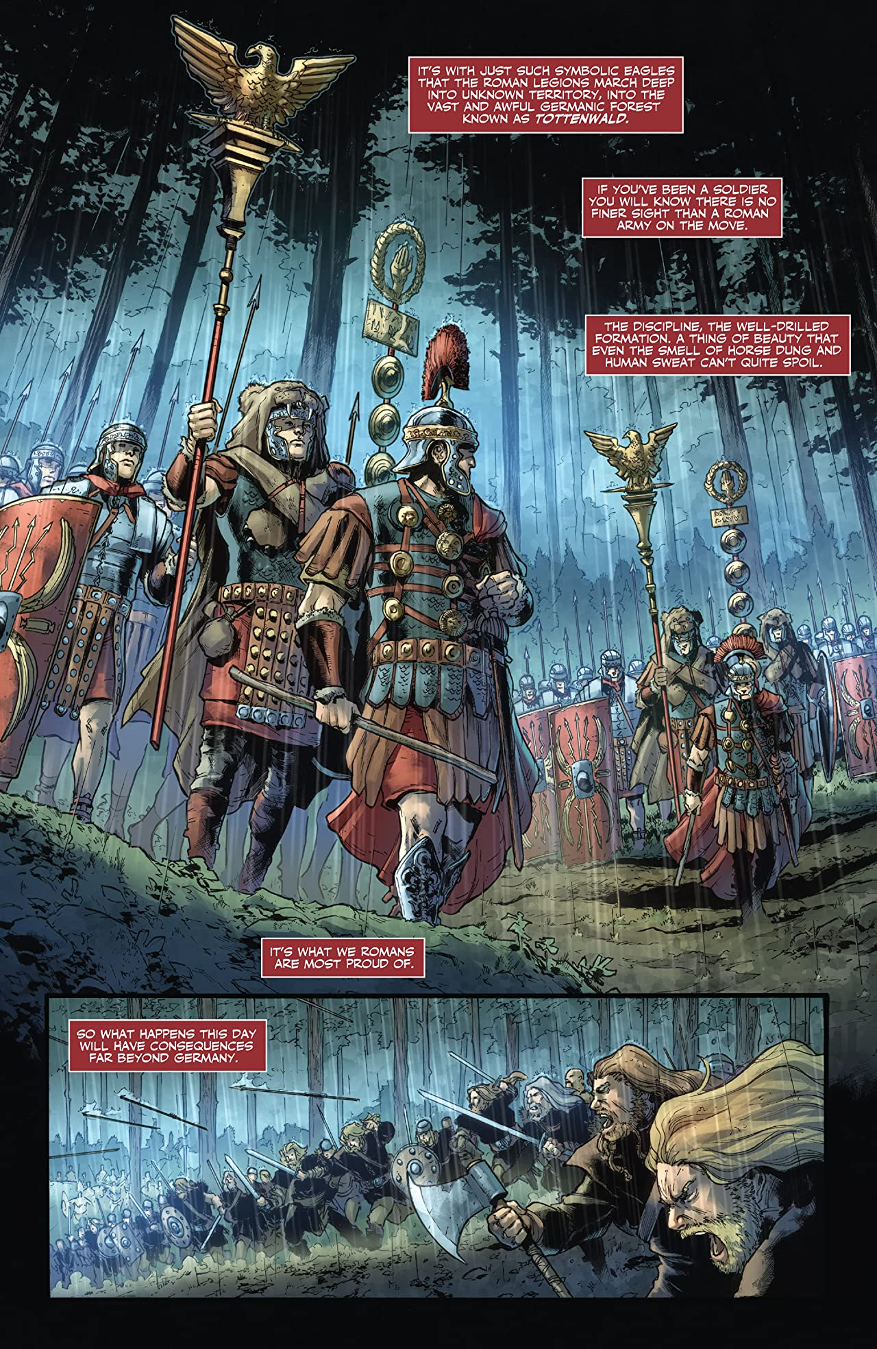 Britannia: Lost Eagles of Rome #1