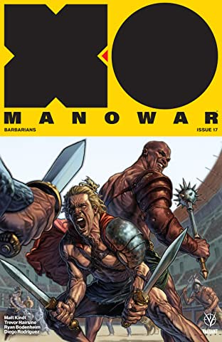 X-O Manowar (2017) No.17