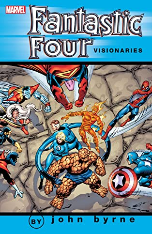 Fantastic Four Visionaries: John Byrne Vol. 2
