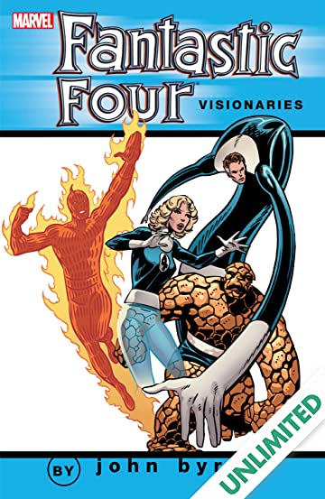 Fantastic Four Visionaries: John Byrne Vol. 3