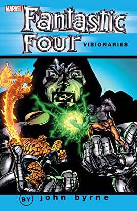 Fantastic Four Visionaries: John Byrne Vol. 4