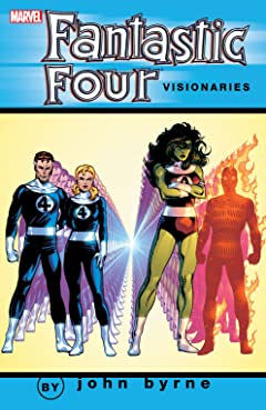 Fantastic Four Visionaries: John Byrne Tome 6