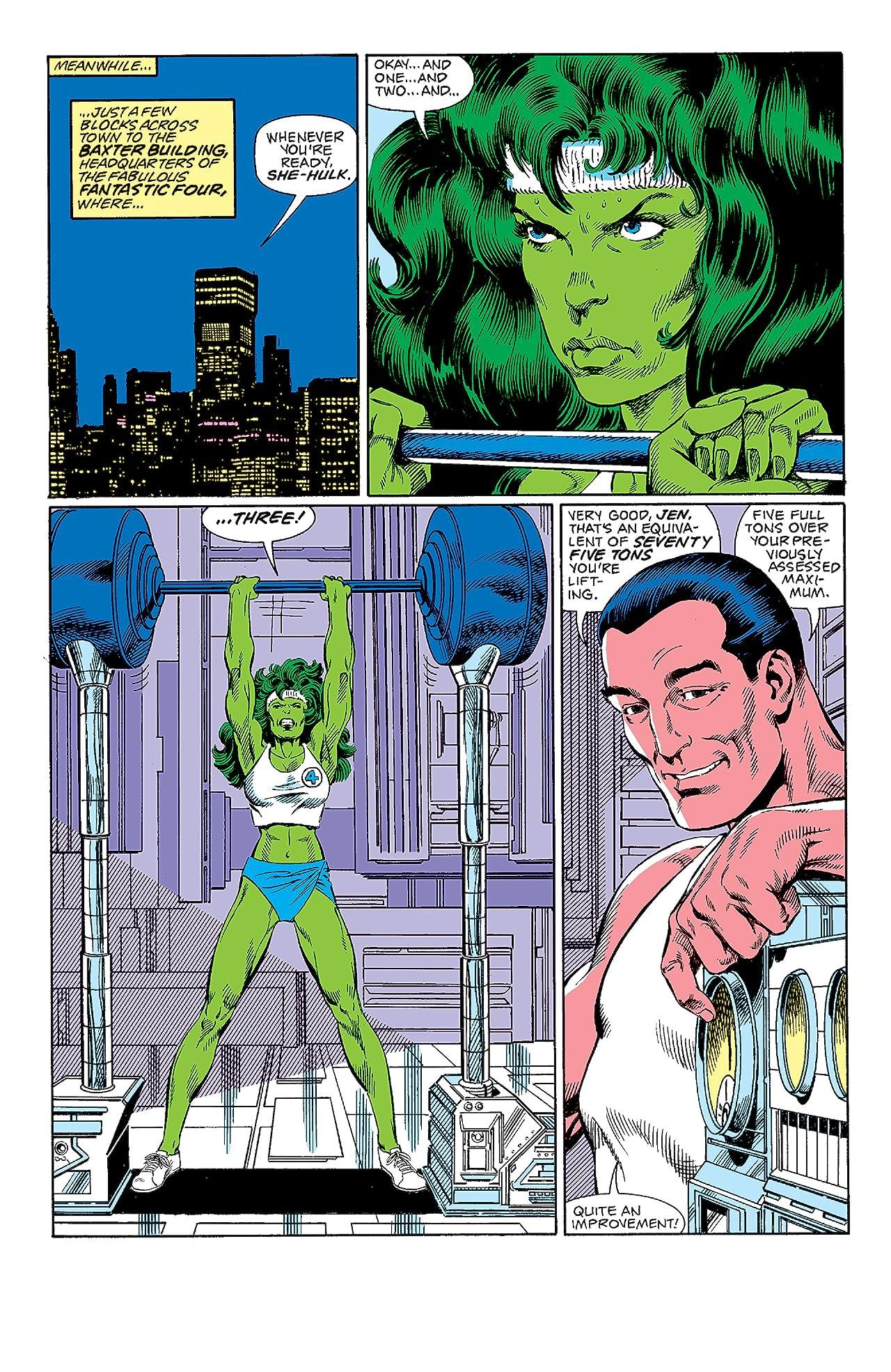 Fantastic Four Visionaries: John Byrne Vol. 6