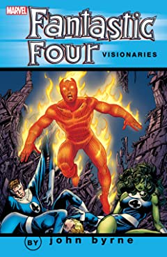 Fantastic Four Visionaries: John Byrne Tome 8