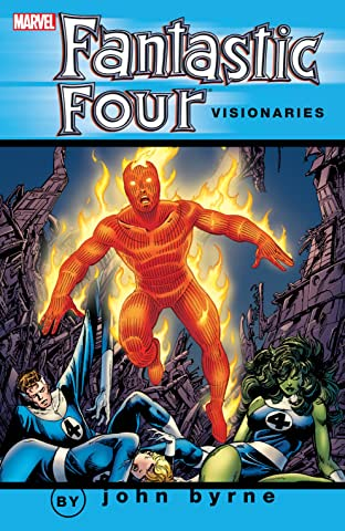 Fantastic Four Visionaries: John Byrne Vol. 8