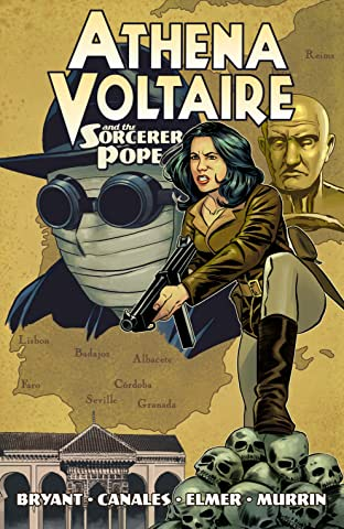 Athena Voltaire and the Sorcerer Pope Tome 1