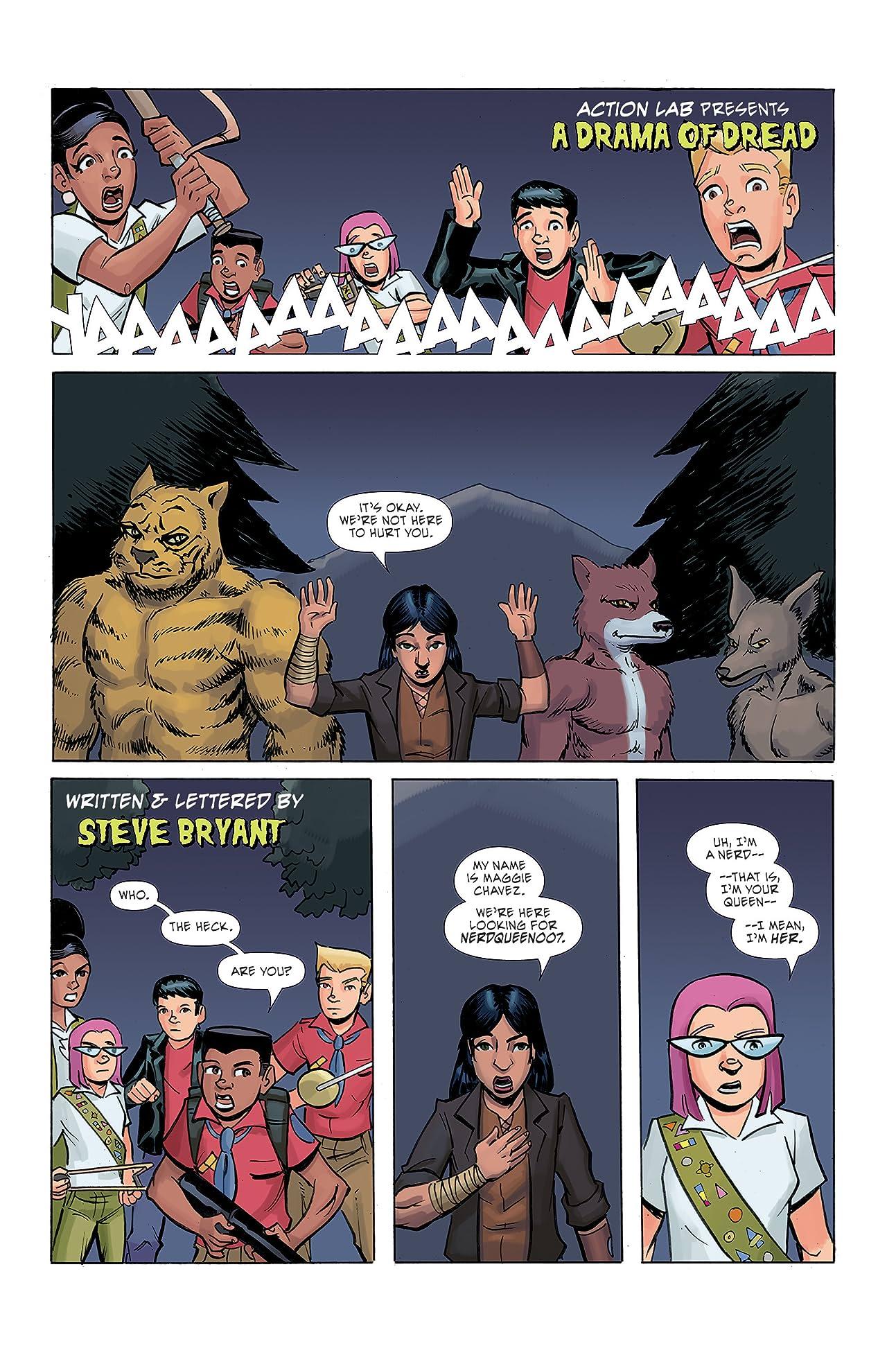 Ghoul Scouts: I Was a Tweenage Werewolf #4