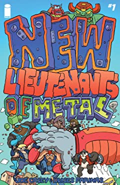 New Lieutenants of Metal #1