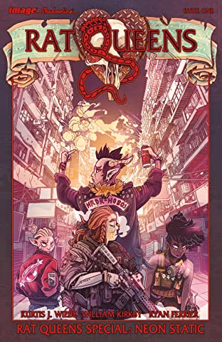 Rat Queens Special: Neon Static No.1