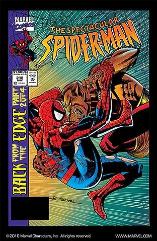 Peter Parker, The Spectacular Spider-Man (1976-1998) #218