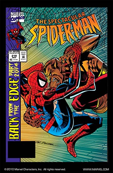 Peter Parker, The Spectacular Spider-Man (1976-1998) #218