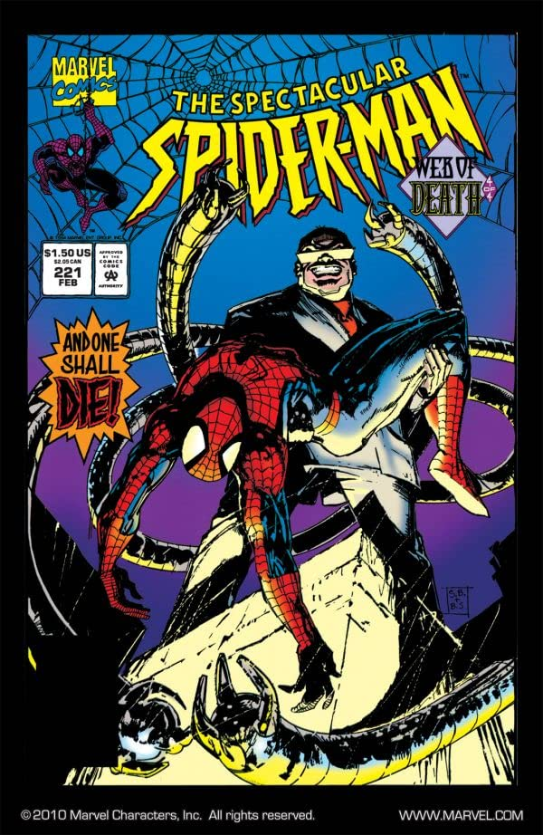 Peter Parker, The Spectacular Spider-Man (1976-1998) #221