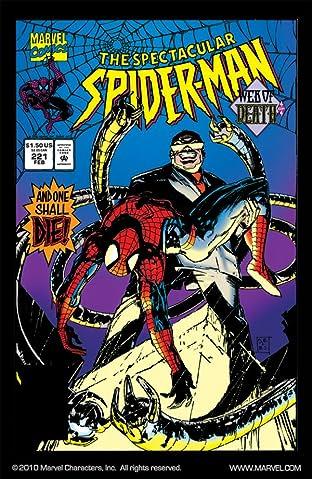 Peter Parker, The Spectacular Spider-Man (1976-1998) #221
