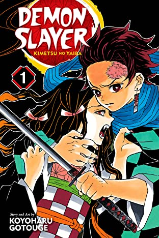 Demon Slayer: Kimetsu no Yaiba Tome 1