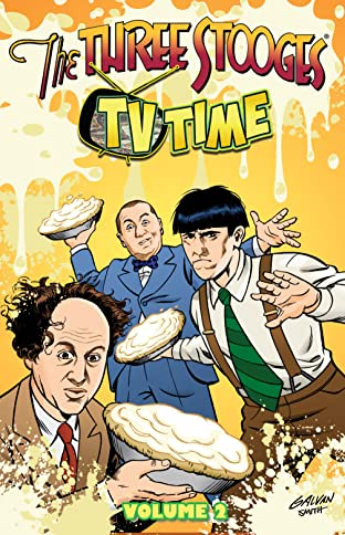 Three Stooges COMIC_VOLUME_ABBREVIATION 2
