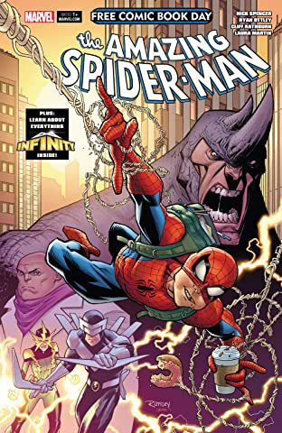 Free Comic Book Day 2018: Amazing Spider-Man/Guardians Of The Galaxy #1