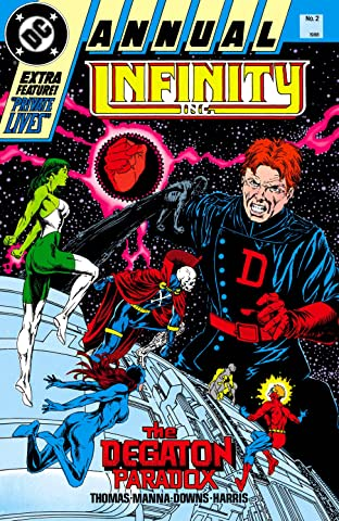 Infinity, Inc. (1984-1988) Annual #2