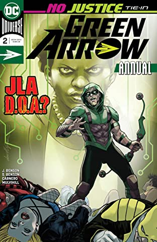 Green Arrow (2016-2019) Annual #2
