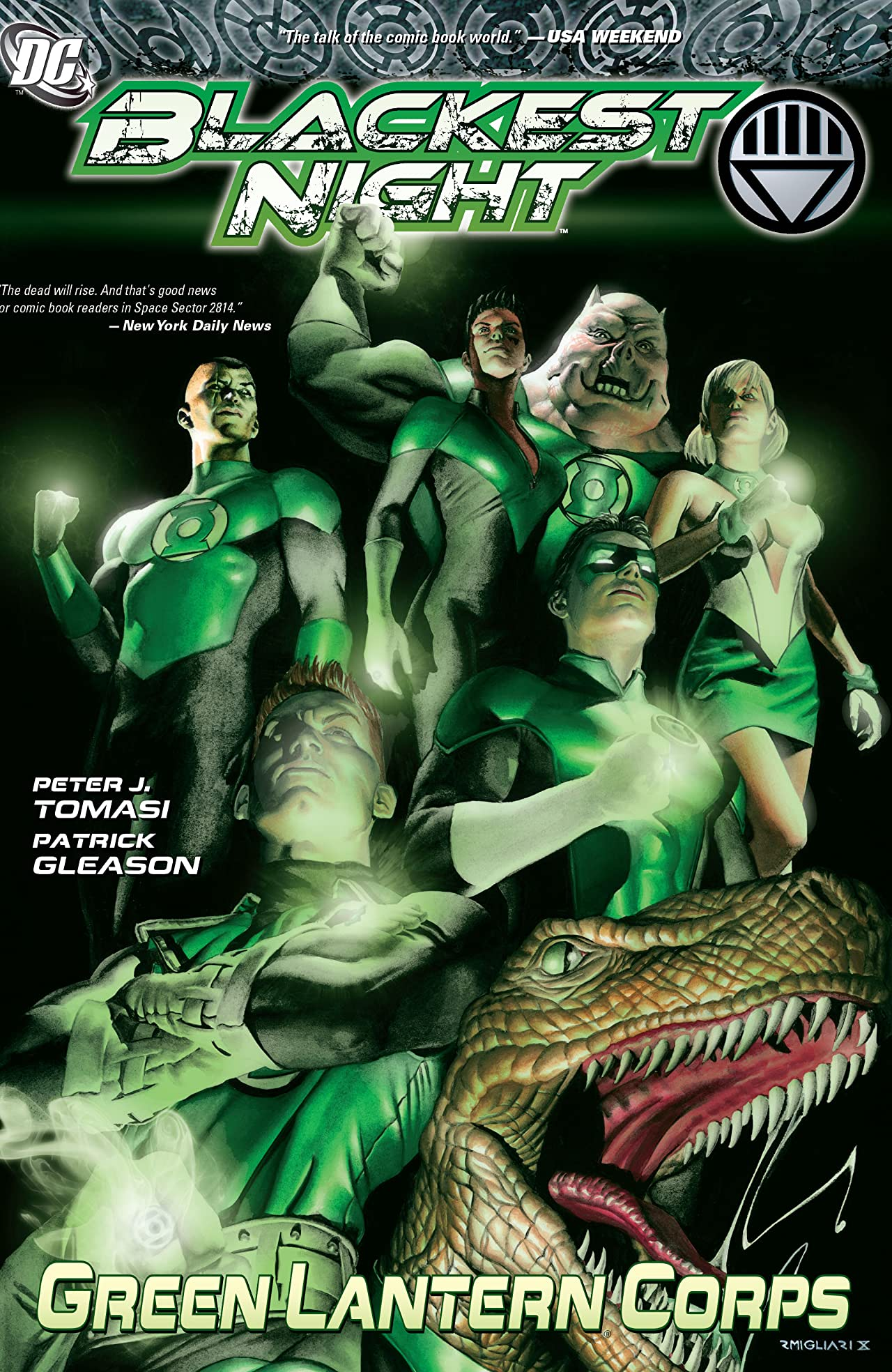 Blackest Night: Green Lantern Corps
