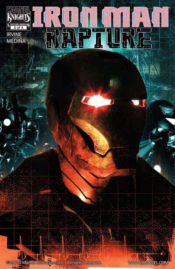 Iron Man: The Rapture #3 (of 4)