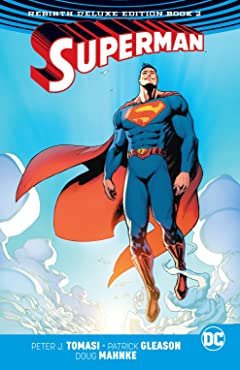 Superman (2016-): The Rebirth - Deluxe Edition: Book 2