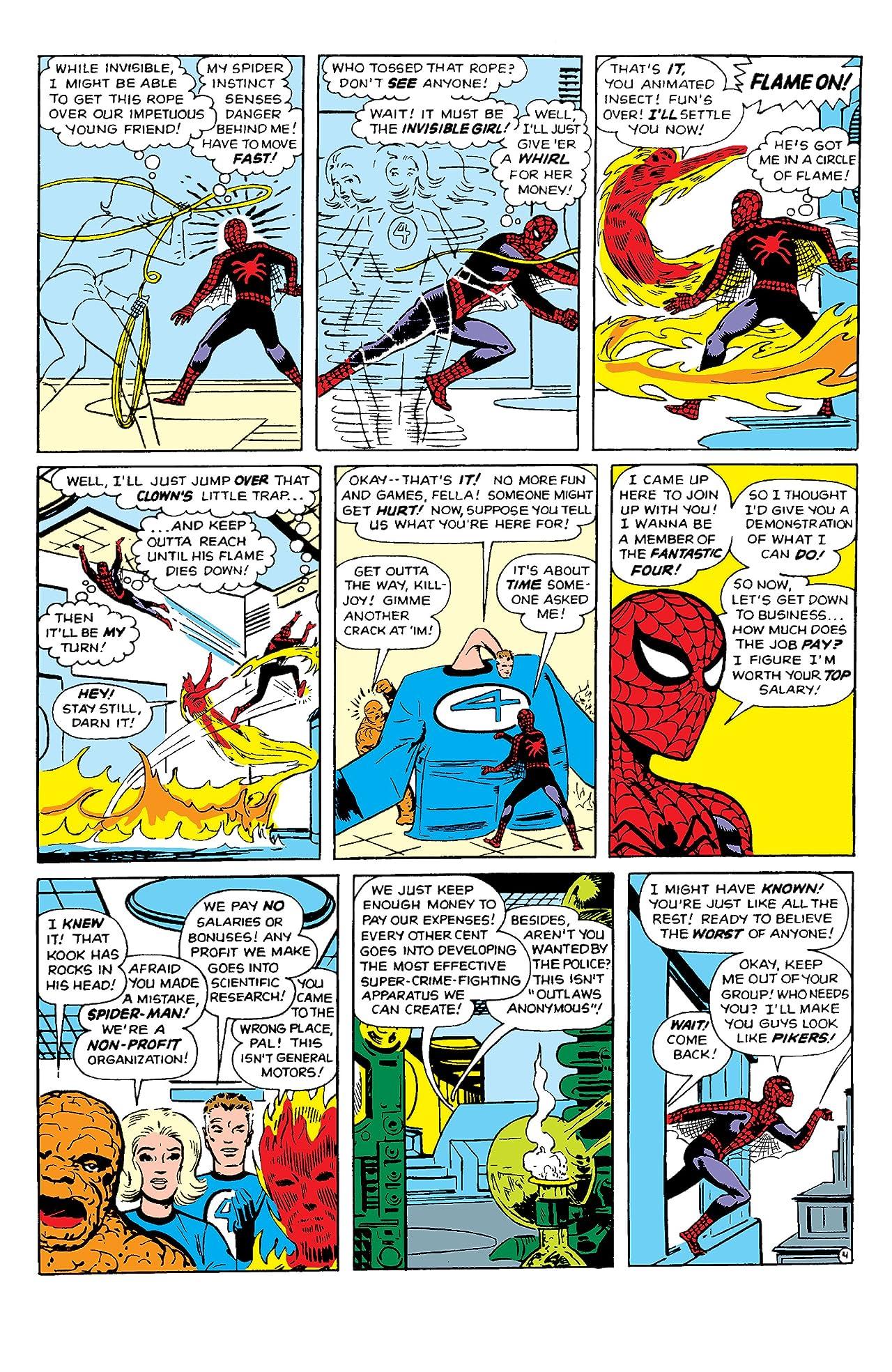 Fantastic Four/Spider-Man Classic
