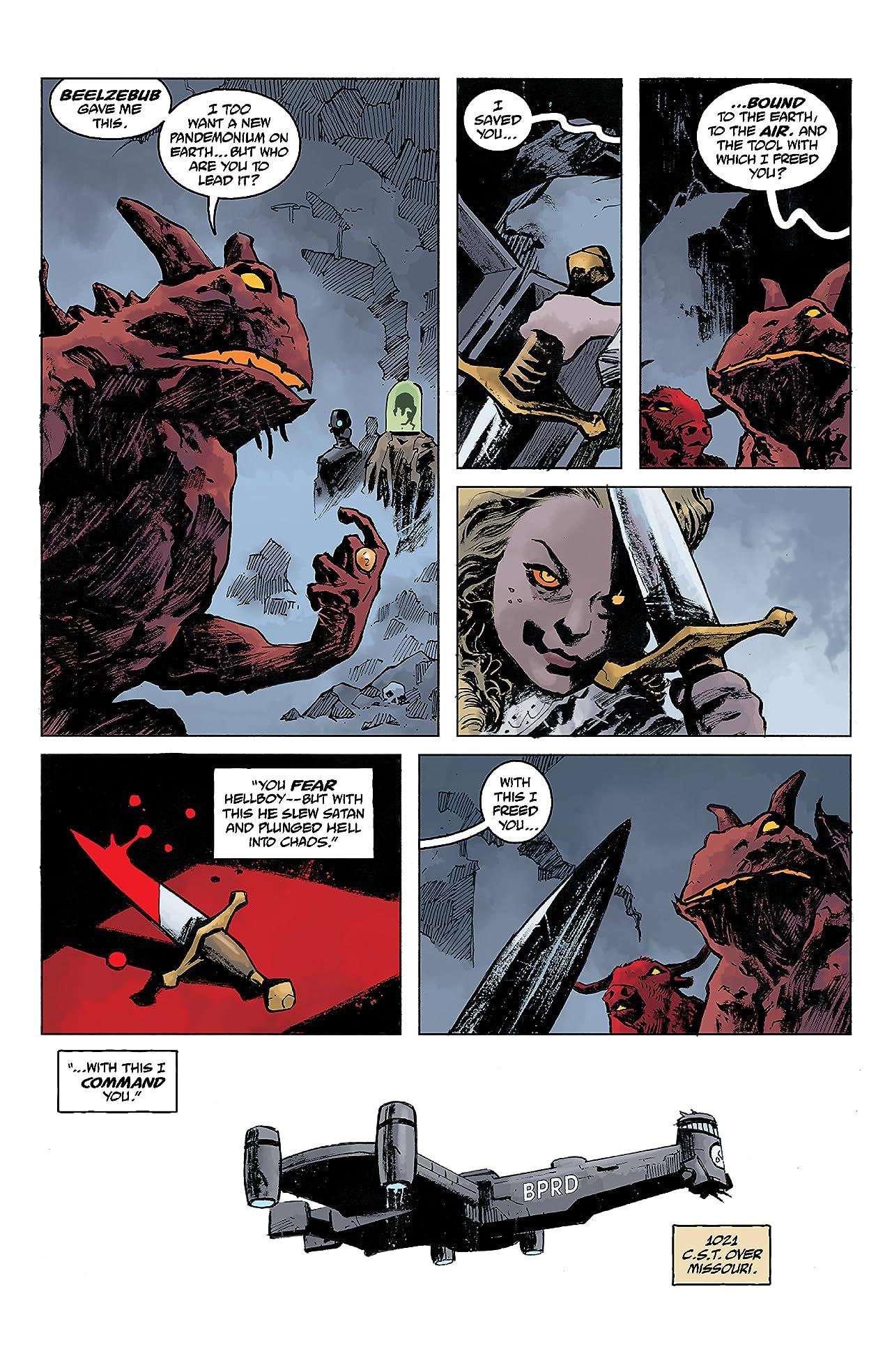 B.P.R.D.: The Devil You Know #8