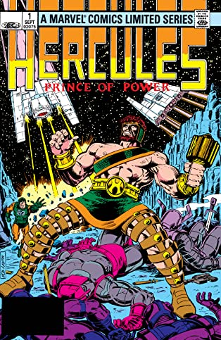 Hercules: Prince Of Power (1982) #1