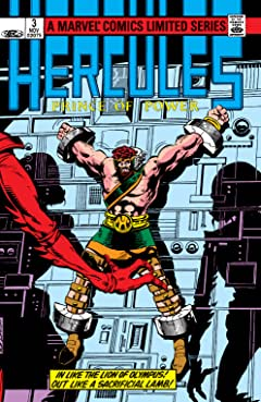 Hercules: Prince Of Power (1982) #3