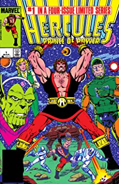 Hercules: Prince of Power (1984) #1
