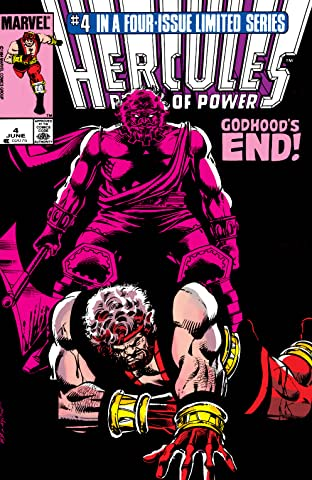 Hercules: Prince of Power (1984) #4