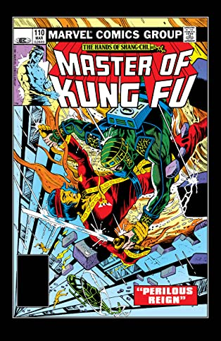 Master of Kung fu (1974-1983) #110