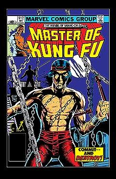 Master of Kung fu (1974-1983) #112