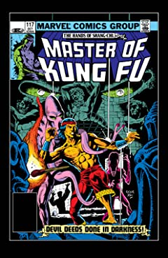 Master of Kung fu (1974-1983) #117