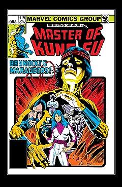 Master of Kung fu (1974-1983) #119