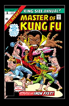 Master of Kung Fu (1974-1983) Annual No.1