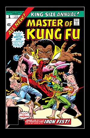 Master of Kung fu (1974-1983) Annual #1