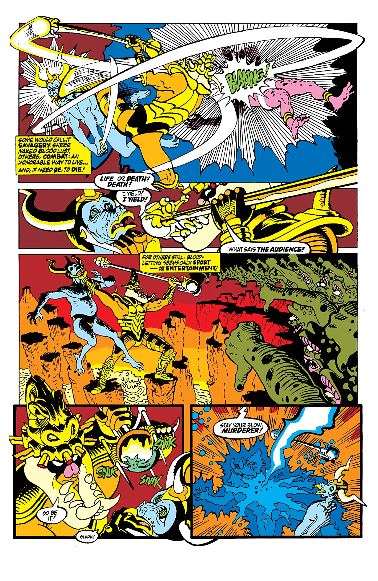 Silver Surfer (1987-1998) #39