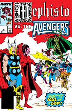 Mephisto Vs. The Avengers (1987) #4