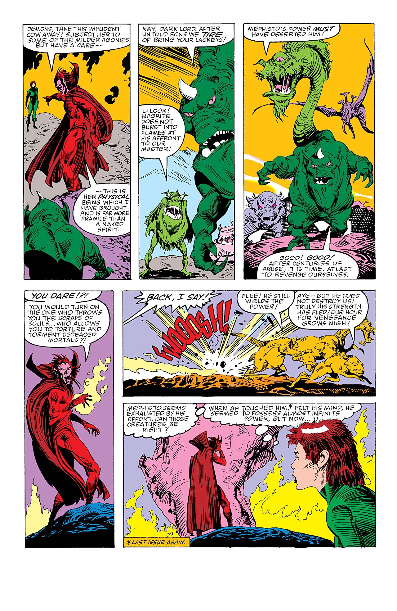 7da9b7d996 Mephisto Vs. The Avengers (1987) #4 - Comics by comiXology: Web UK