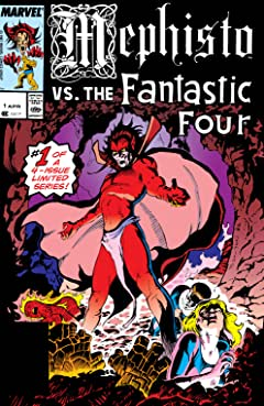 Mephisto Vs. The Fantastic Four (1987) #1