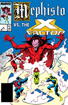 Mephisto Vs. The X-Factor (1987) #2