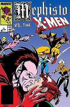 Mephisto Vs. The X-Men (1987) #3