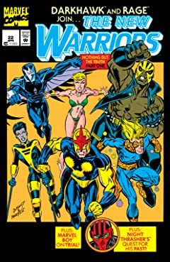 New Warriors (1990-1996) #22