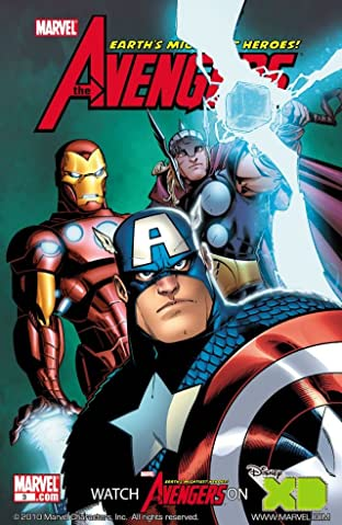 Avengers: Earth's Mightiest Heroes (2010) #3 (of 4)