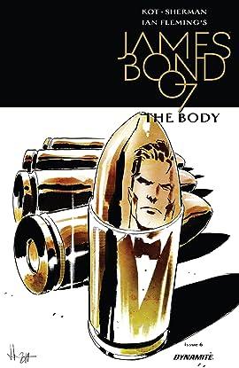 James Bond: The Body (2018) #6 (of 6)