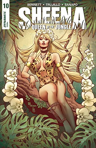 Sheena: Queen Of The Jungle No.10