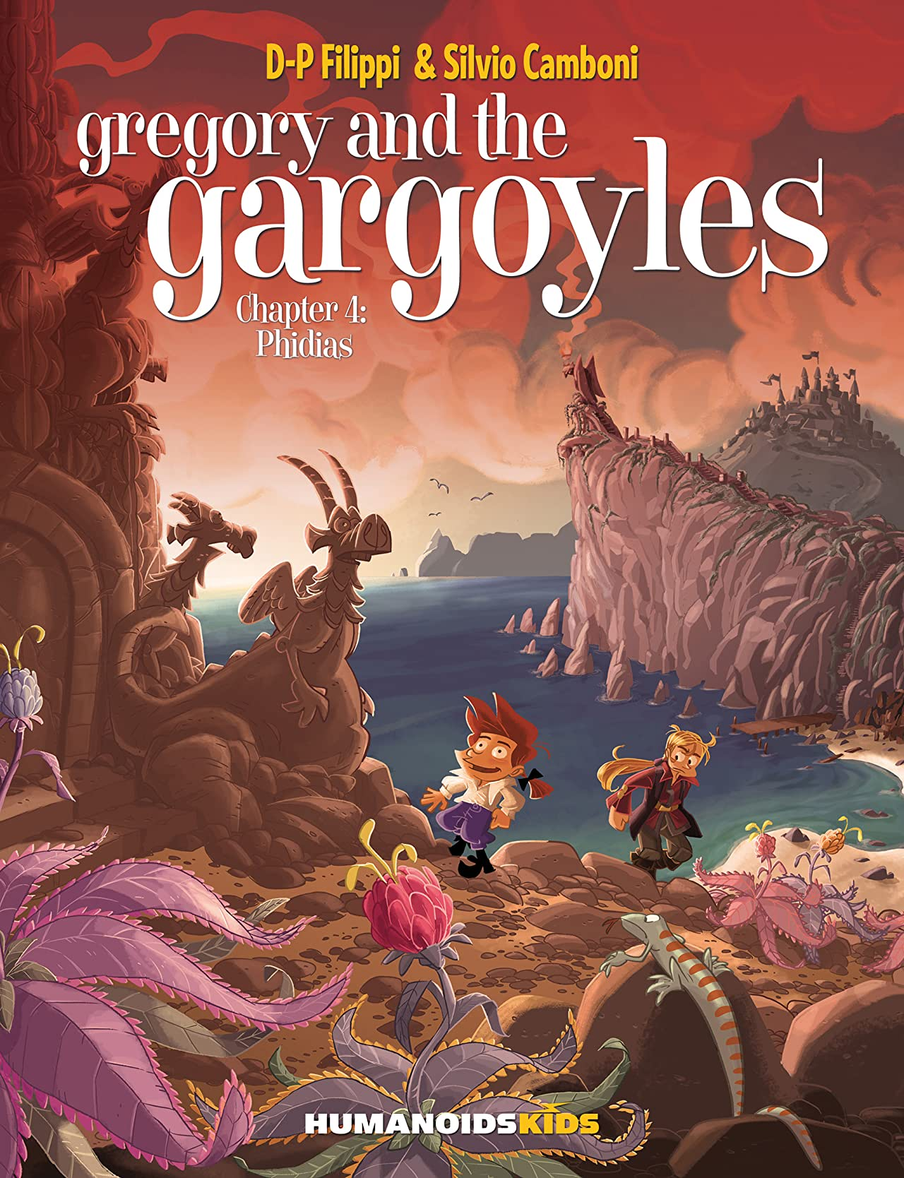 Gregory and the Gargoyles Vol. 4