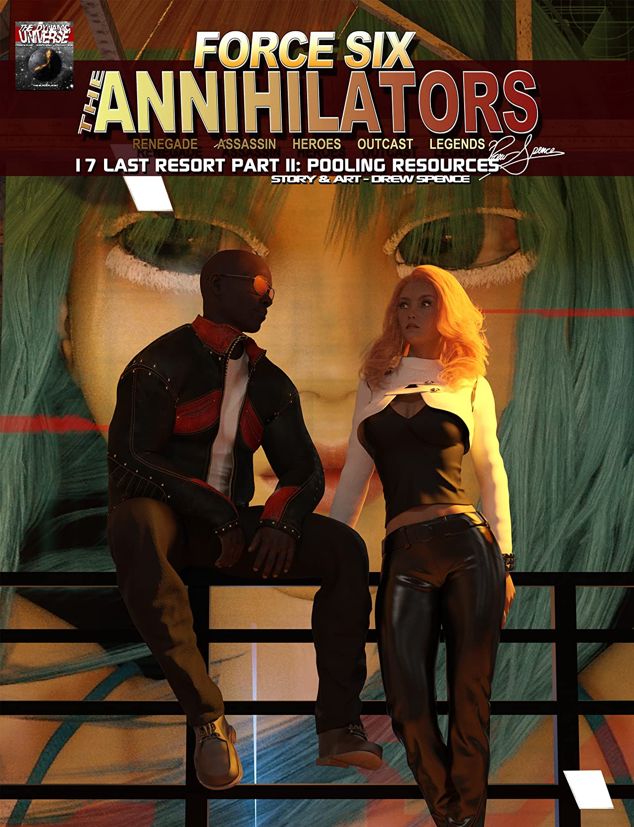 Force Six, The Annihilators 17 Last Resort Part II #17