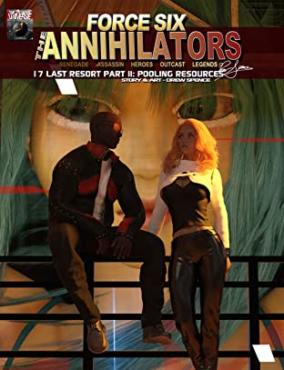 Force Six, The Annihilators 17 Last Resort Part II No.17
